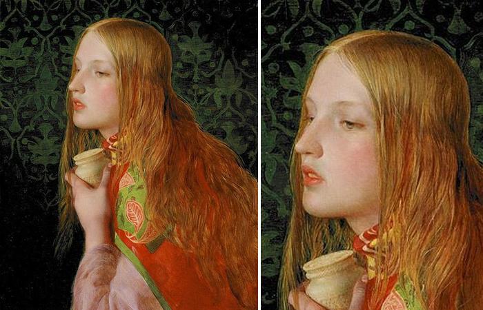 Фредерик Сэндис «Мария Магдалина», 1859 г.