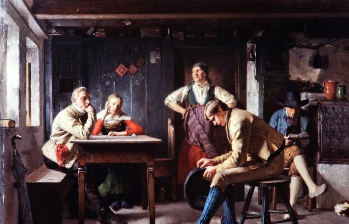 Картина «Предложение» Акселя Кулле / Фото: artsandculture.google.com