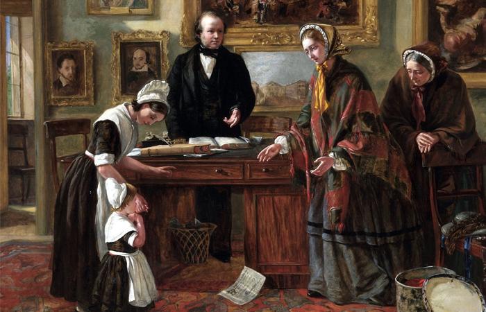 Эмма Браунлоу «Подкидыш возвращается к матери» (1858 год)