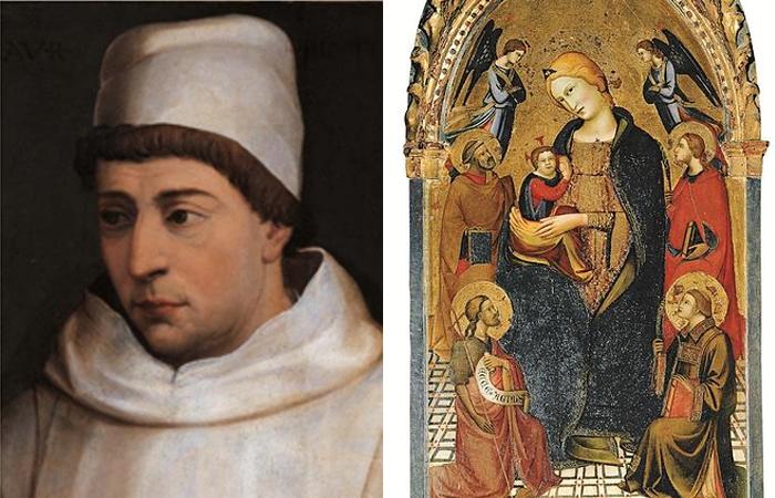 Лоренцо Монако и Мадонна Смирение со святыми
