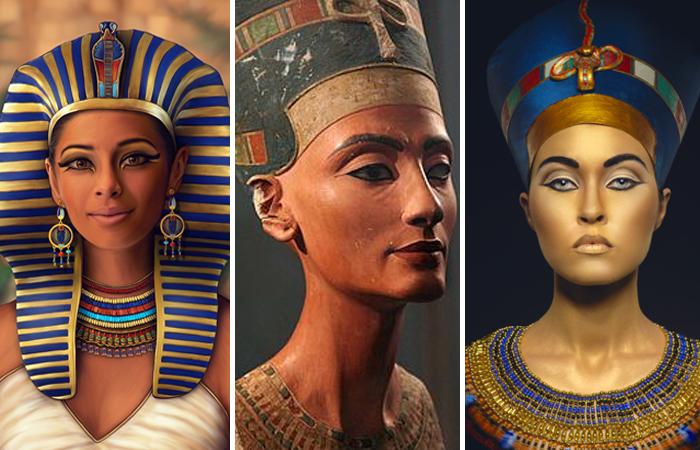 Хатшепсут, Нефертити, Клеопатра