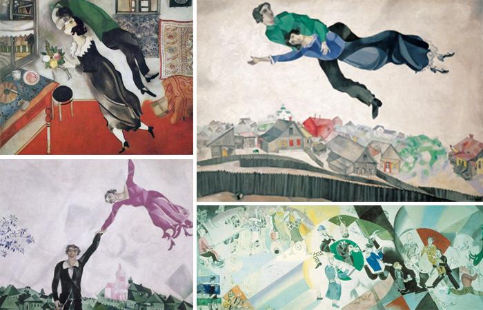 Работы Шагала