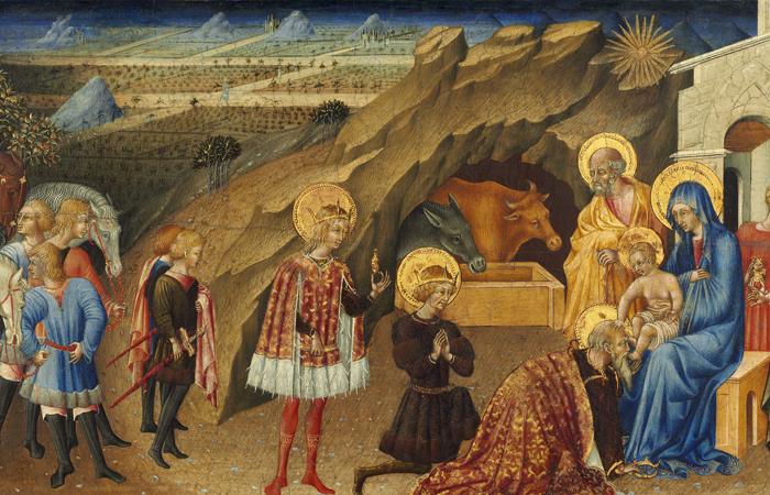Джованни ди Паоло «Поклонение волхвов», около 1450, Национальная галерея искусств / Фото: gallerix.ru