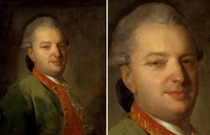 Ф.Рокотов - Портрет В.И.Майкова