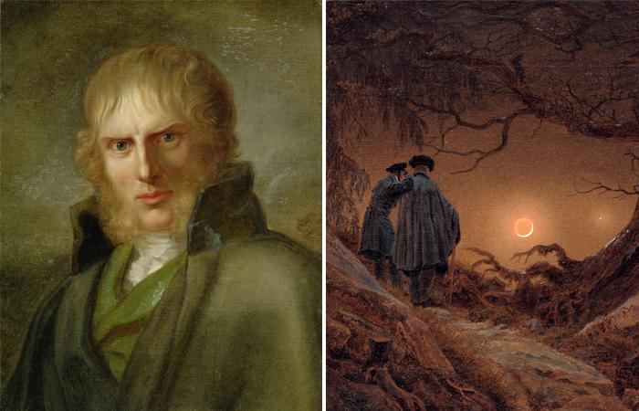 «Двое, созерцающие луну» Каспара Давида Фридриха