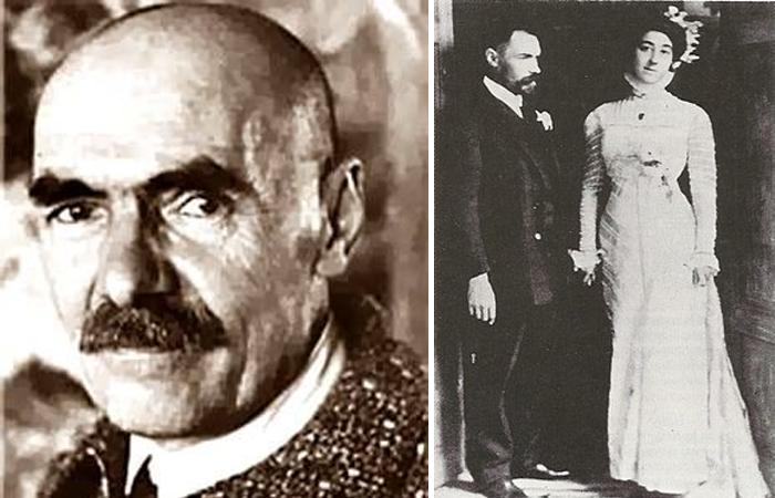 Петров-Водкин с женой