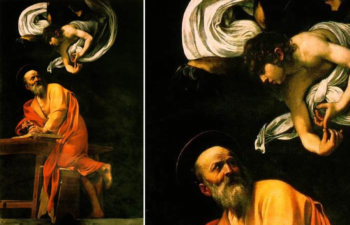 Святой Матфей и ангел (второй вариант)