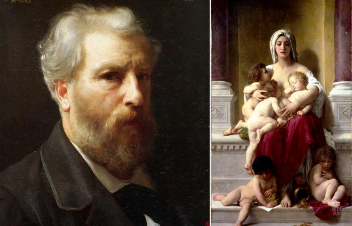 """Вильям Бугро и его картина """"Благотворительность"""""""