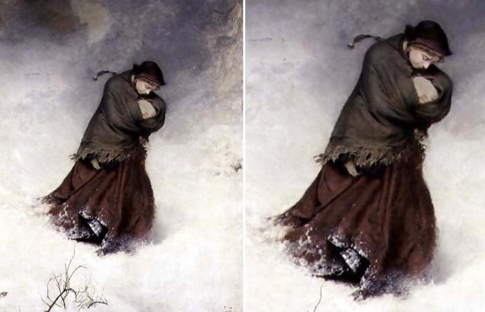 «Сбившаяся с пути» Фредерик Уокер, 1863 год.