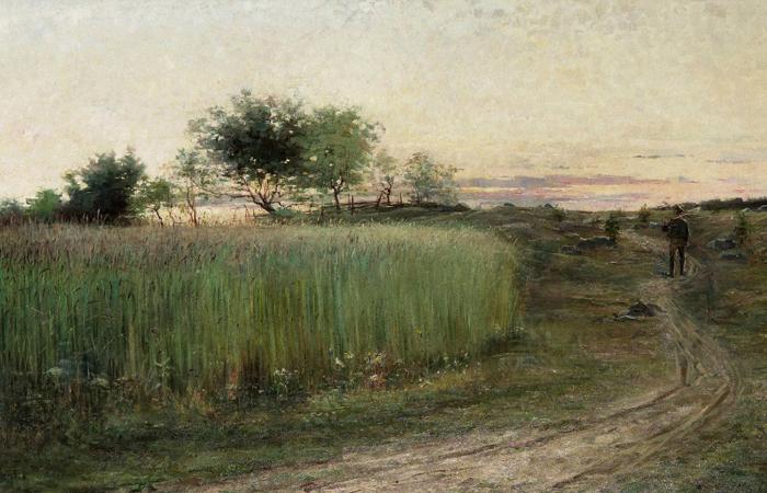 Хильма аф Клинт. «Летний вечер» 1888