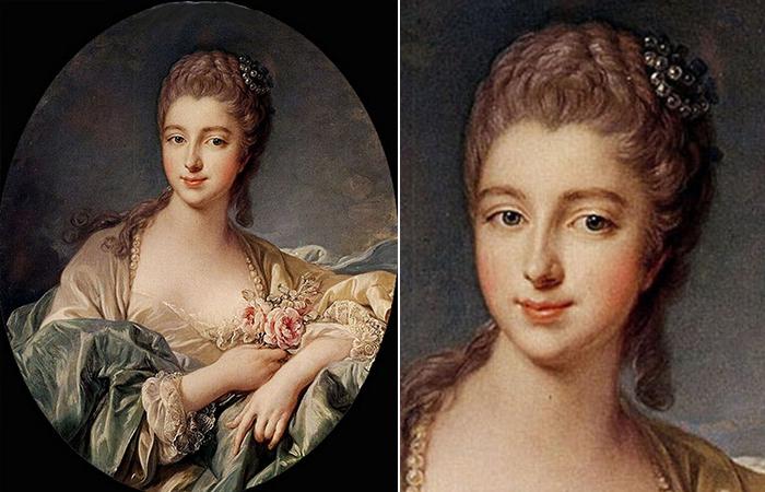 Франсуа Буше «Портрет мадам де Помпадур», 1755
