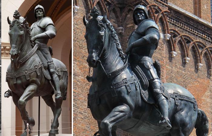 Конная статуя Бартоломео Коллеони