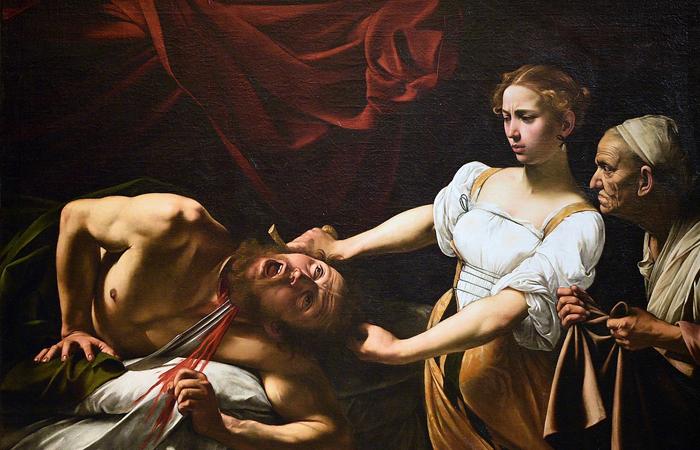 «Юдифь, убивающая Олоферна»