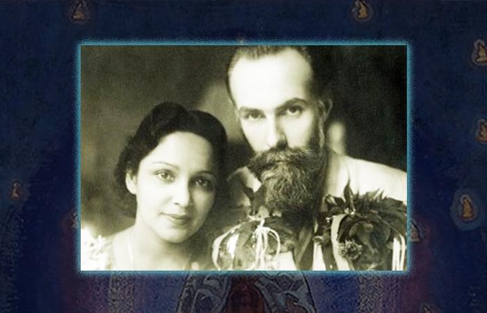 Николай и Елена Рерих