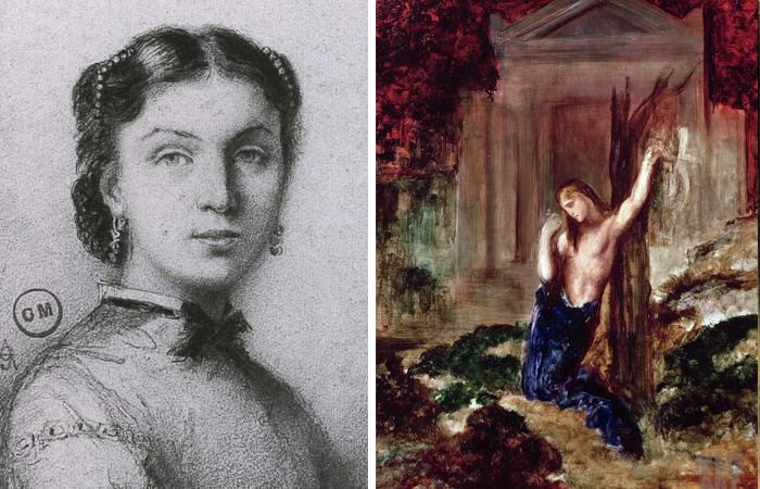 Александрина Дюре / «Орфей на могиле Эвридики»