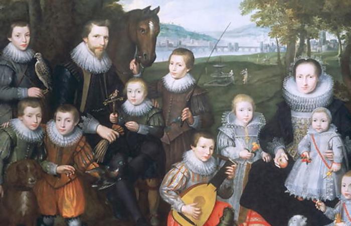 «Семейный портрет» Корнелис де Вос