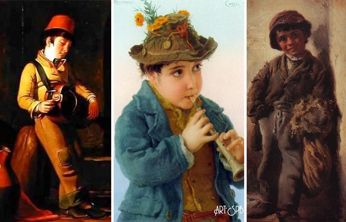 Образ савояра на картинах художников (Флэгг, Бонифаци, Маковский)