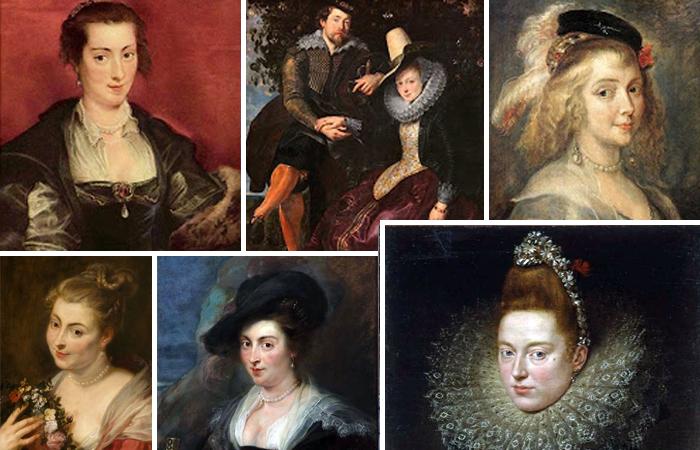 Женские портреты Рубенса