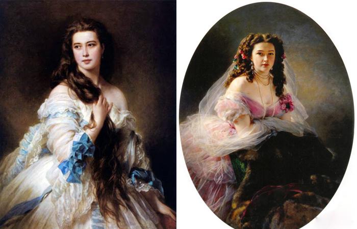 Портреты Римской-Корсаковой