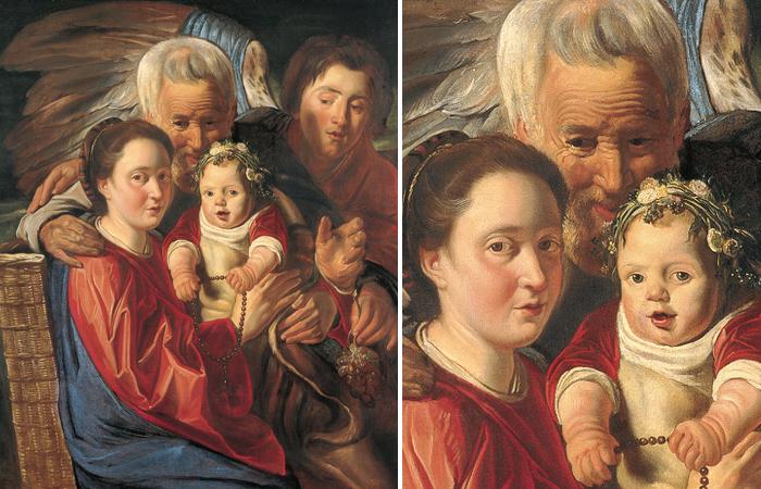 «Святое семейство» (1614-1618), Якоб Йорданс