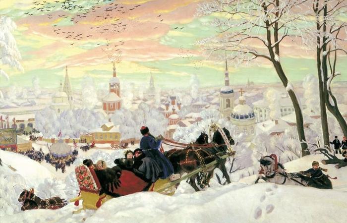 """Борис Кустодиев. """"Масленица"""", 1903 год"""