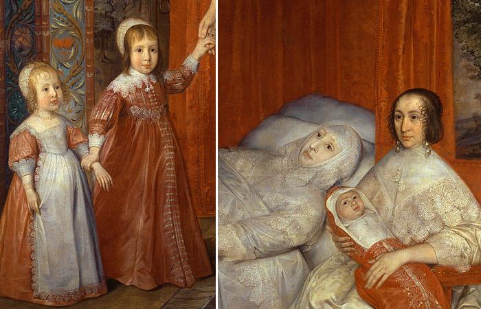 Дэвид де Гранж, «Семейство Солтонстолл», 1636 год (фрагменты)