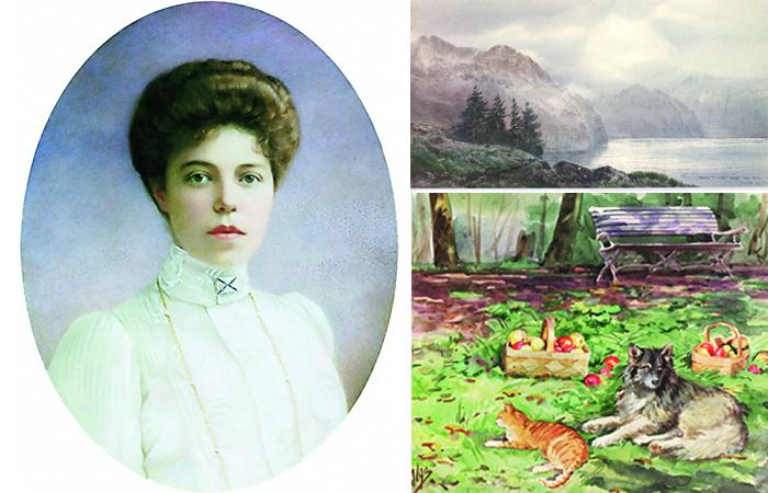 Княгина Ольга Александровна и ее картины