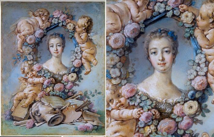 Франсуа Буше «Мадам де Помпадур», 1754, Мельбурн, Национальная галерея Виктории