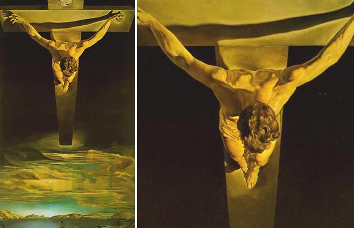 «Христос Святого Иоанна Креста», Сальвадор Дали (1950—1952)