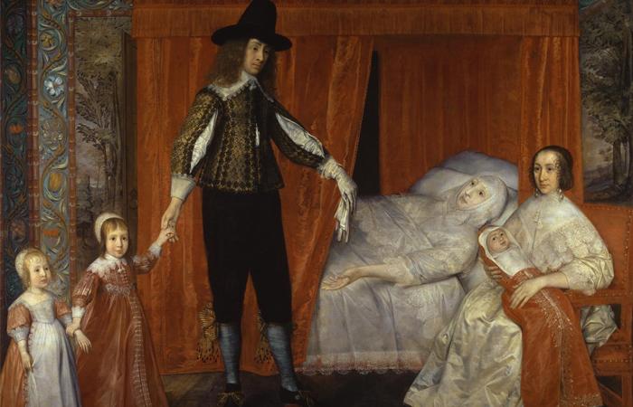 Дэвид де Гранж, «Семейство Солтонстолл», 1636 год