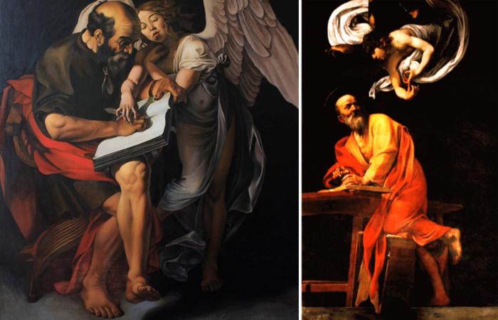 «Святой Матфей и ангел»
