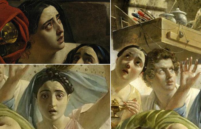 Фрагменты Последнего дня Помпеи