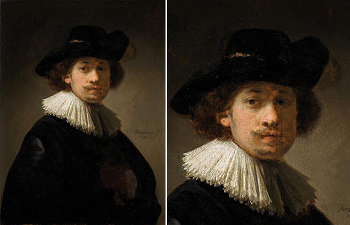 Автопортрет 1632 года