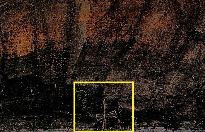 Золотое распятие - важный ключ к атрибуции работы Андреа Мантенья «Воскресение Христа» (1492–1493).