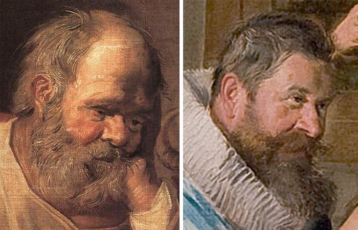 Портреты «тронье» (Святой Лука и Матфей)