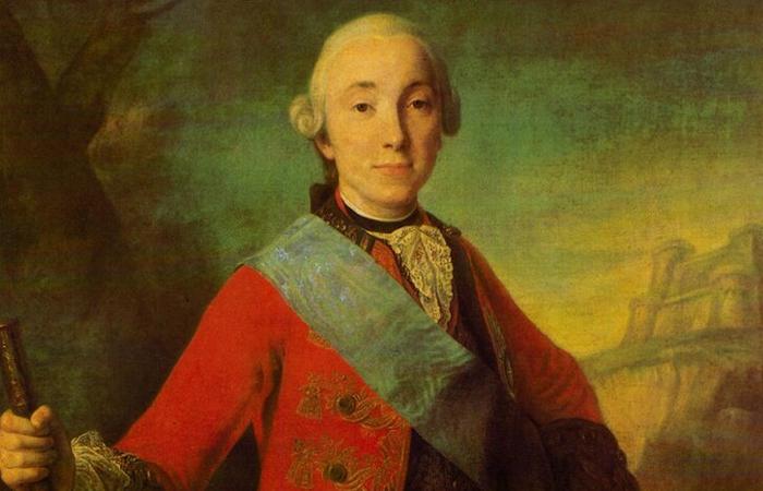 Портрет великого князя Петра Федоровича, 1758