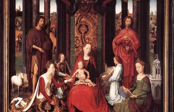 Алтарь Святого Иоанна, 1474 (центральная панель)  / Фото: gallerix.ru