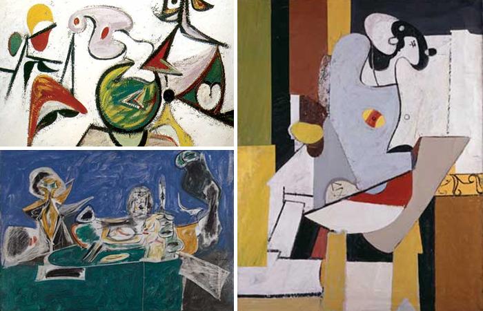 Картины Аршила Горки