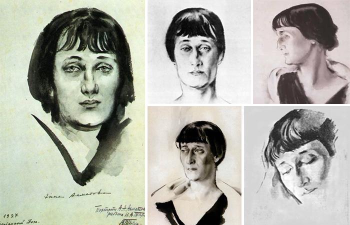 Портреты Ахматовой (Тырса)