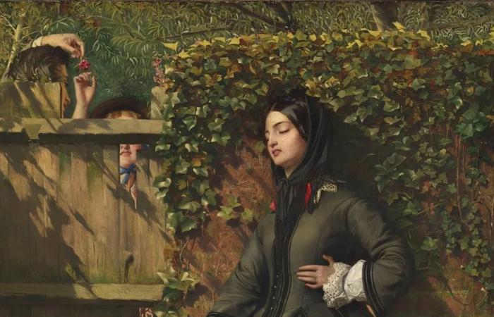 Работа Кальдерона «Нарушенные клятвы» (1856) фрагмент