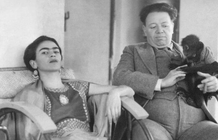 Фрида Кало и Диего Ривер