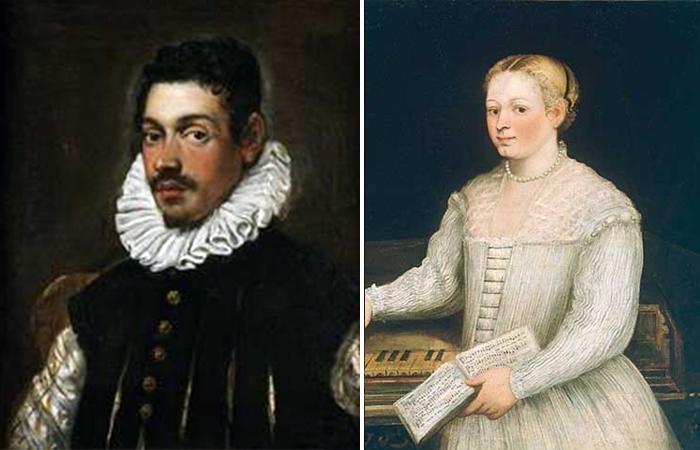 Портреты Доменико и Мариетты Робусти (Тинторетто)