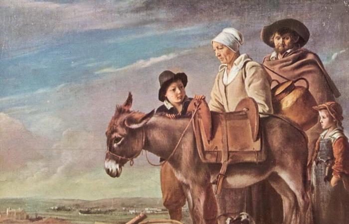 Работа братьев Ленен «Семейство молочницы» (ок 1641)