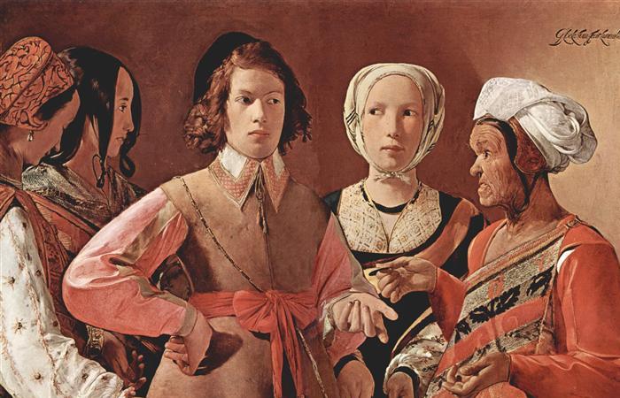 «Гадалка» Жорж де Латур (1630-е) / Фото: metmuseum.org