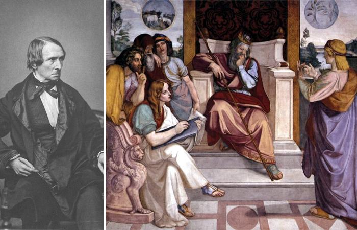 "Петер Корнелиус. ""Иосиф толкует сны фараона"""