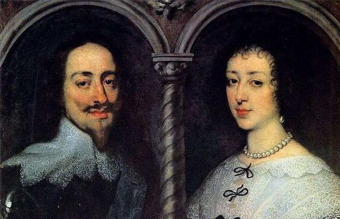 «Портрет Карла I и Генриетты Марии» Антонис Ван Дейк (1627) / Фото: paintingplanet.ru