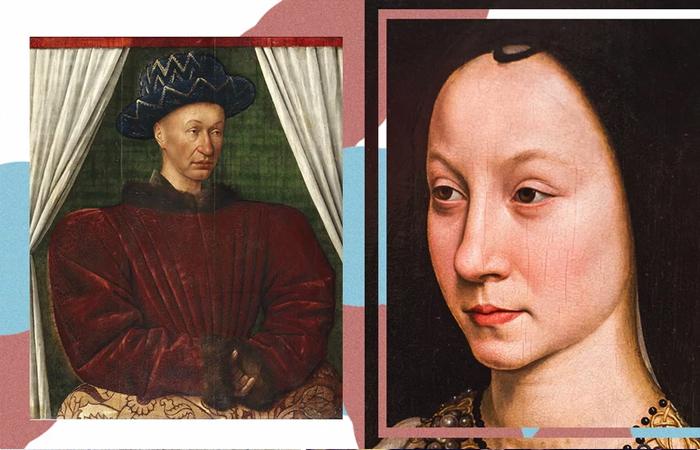 Карл VII и Аньес Сорель / Фото: heroine.ru