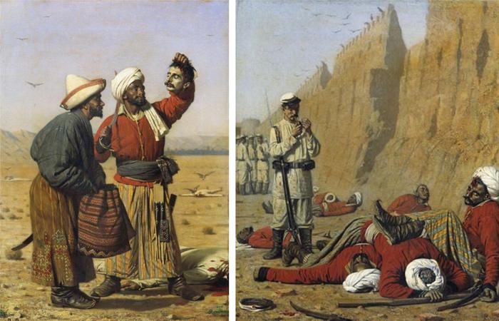 Работы Туркестанской серии
