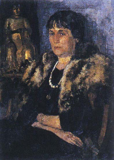 Портрет Ахматовой (Белкин)