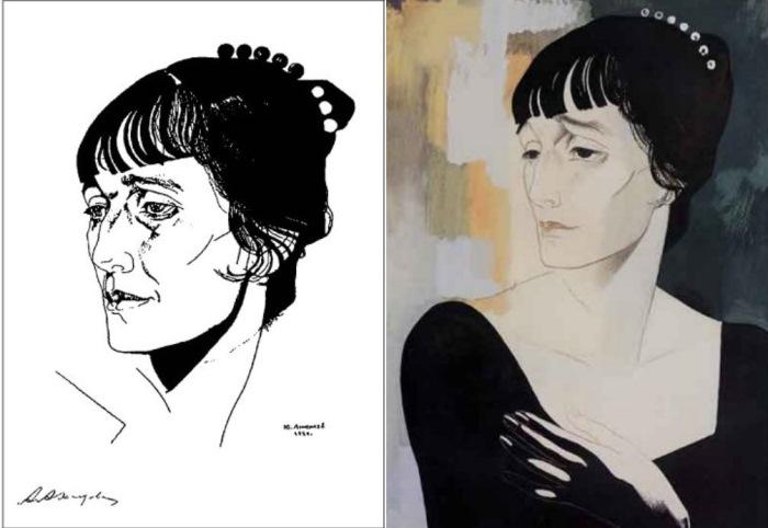 Портреты Ахматовой (Анненков)